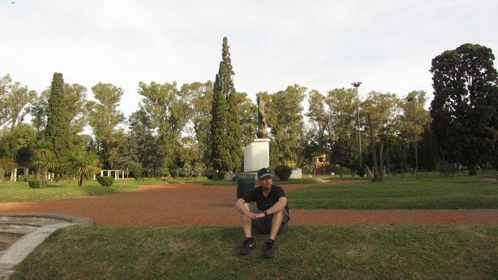 Im Park.
