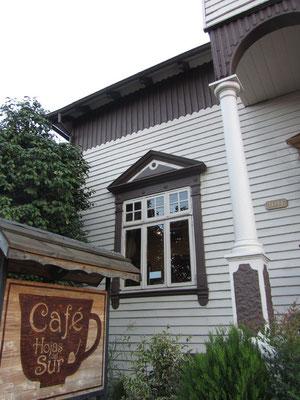Das Cafe Hojas Sur gehört zum Teil unserem Gastgeber.