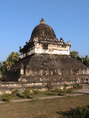 Lotusstupa (Wat Wisunalat, der älteste Tempel Luang Prabangs).