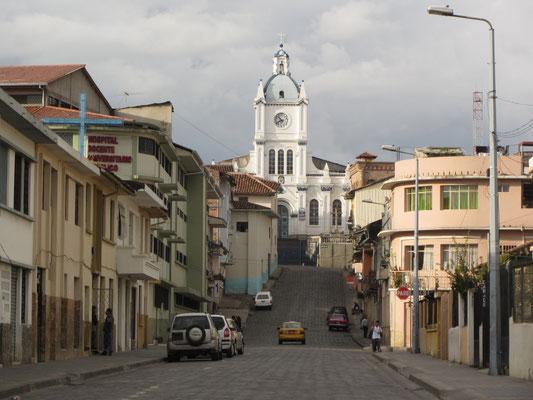 In den Straßen von Cuenca.