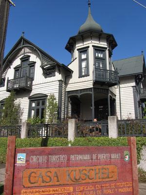 Im Casa Casa Kuschel ist heute ein Reisebüro. Das deutsche Haus ist aber immer noch gleich schön geblieben.