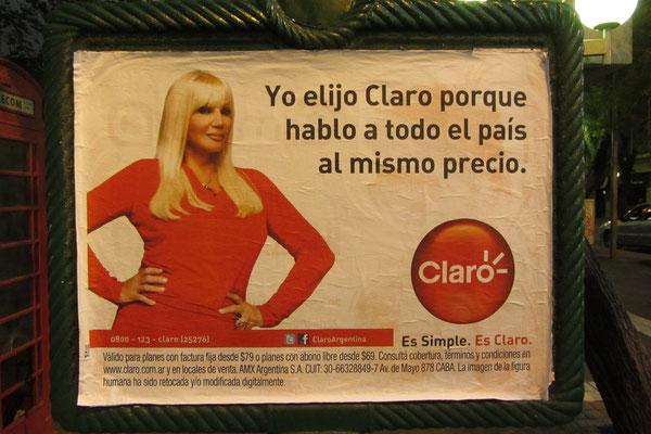 Kann eine Werbung häßlicher sein? Wie konnte Carlos Slim mit Claro der reichste Mensch der Welt werden?