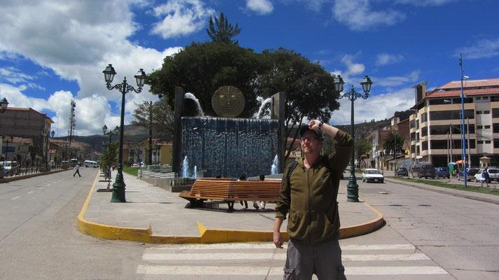 In den Straßen Cuscos.