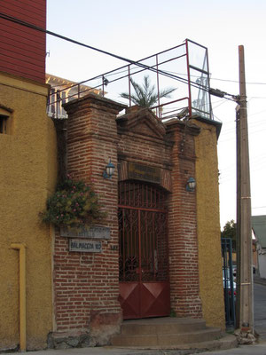 Altes deutsches Haus. Der deutsche Einfluss in Chile hat auch vor Vina nicht Halt gemacht.