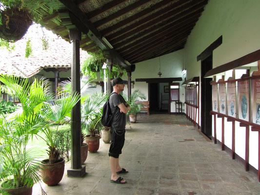 Im Museum Ruben Dario.