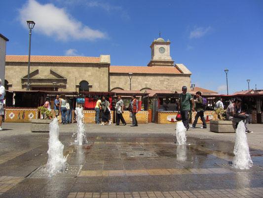 Der Marktplatz.