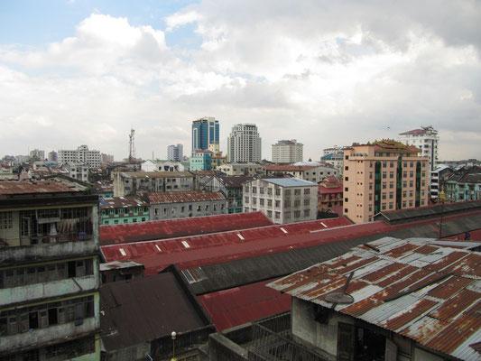 Blick über die Dächer.