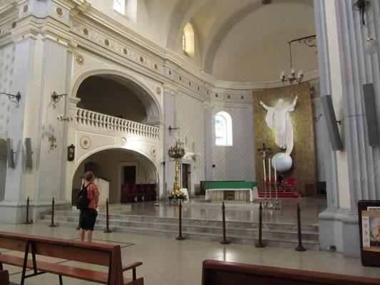In der Catedral Metropolitana.