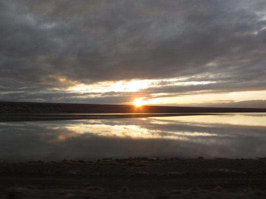 Ein toller Sonnenaufgang.