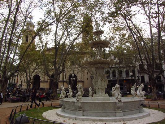 Die Kathedrale von Montevideo.