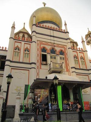 Die Sultan Moschee. (Kampung Glam)