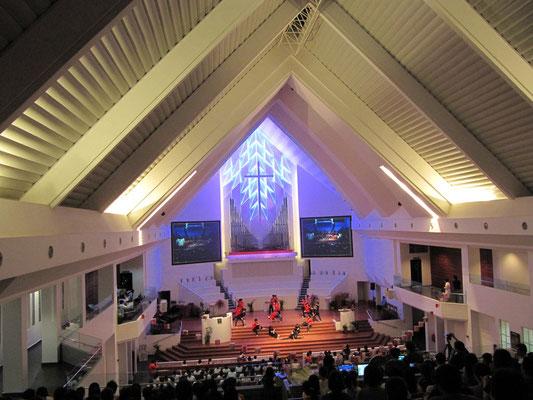 In der Masland Methodisten Kirche.