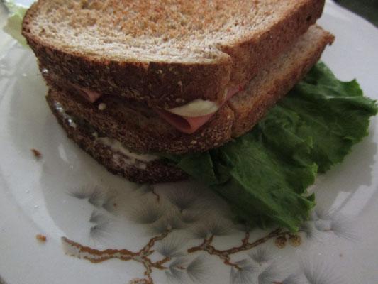 Hausgemachtes Sandwich.