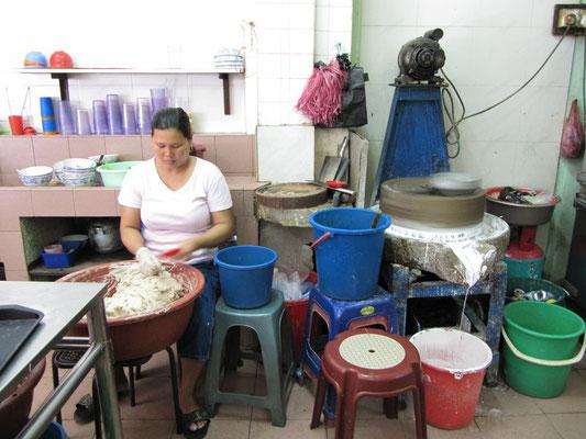 Ding Bian Hu's Zubereitung. Zu kompliziert es hier genauer zu erklären, aber es schmeckt.