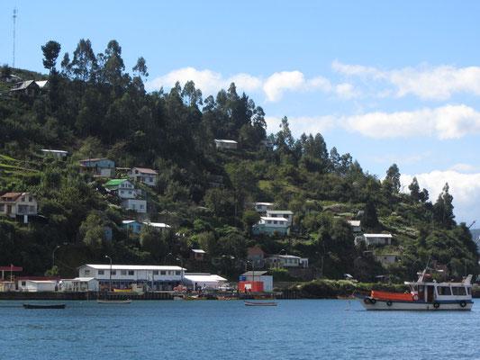 Blick auf die Insel Corral.