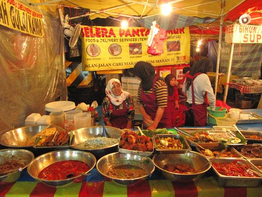 Malayische Spezialitäten.
