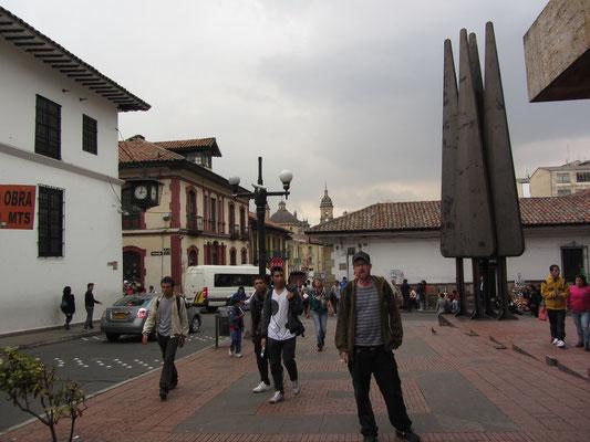 Im Viertel Candelaria.