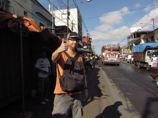 Achtung es gibt Taschendiebe auf dem  Mercado Municipal.