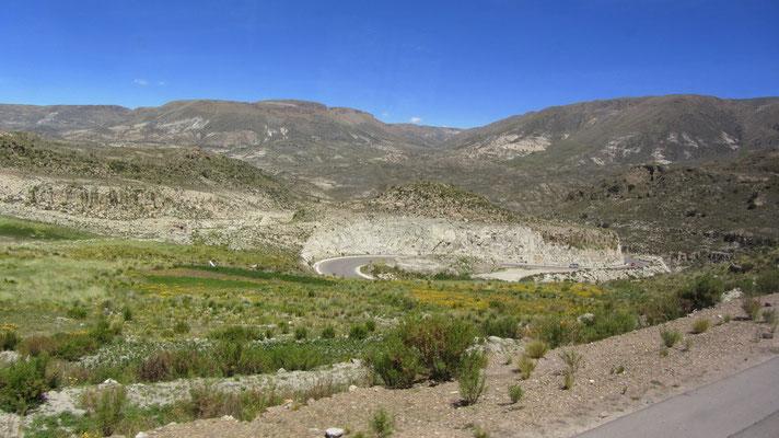 Auf nach Uyuni. Die Landschaft im Süden Boliviens ist wirklich einzigartig.