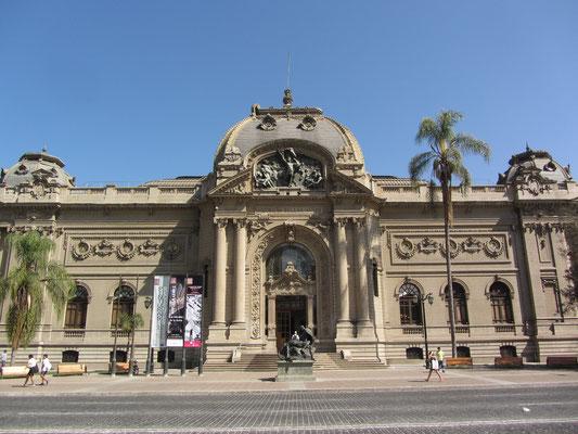 Der Palacio de Bellas Artes.