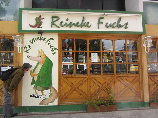 Selbst ein deutsches Restaurant findet sich in der Zona Sur.