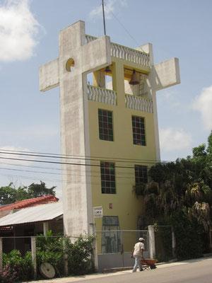 Komische Kirche in Santa Elena.