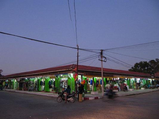 Der Zentralmarkt Mingalar.