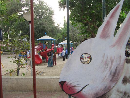 Spielplatz in Bandra West.
