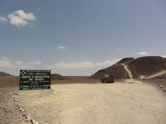 Der Berg ist ca.15 m hoch.