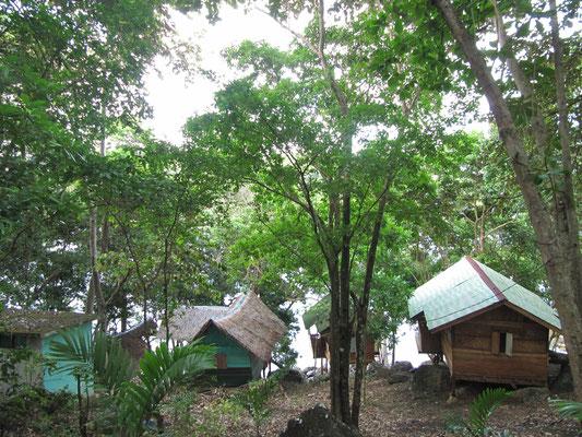 Unsere Nachbarhütten.