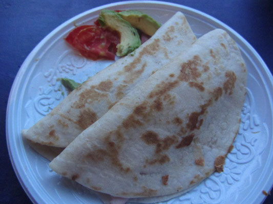 Enchiladas ohne Soße.
