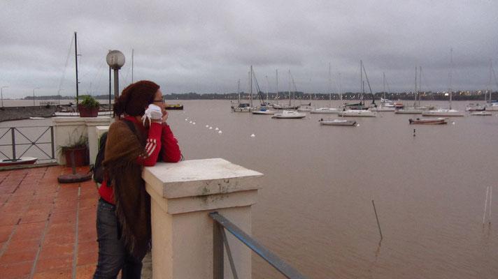 Am alten Hafen.