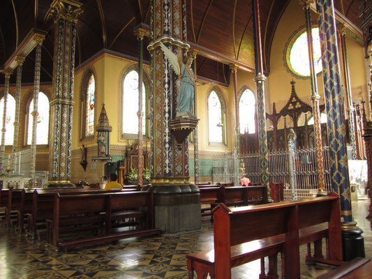 In der Iglesia de la Merced.