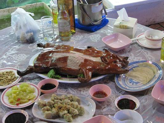 Thai-Spanferkel.