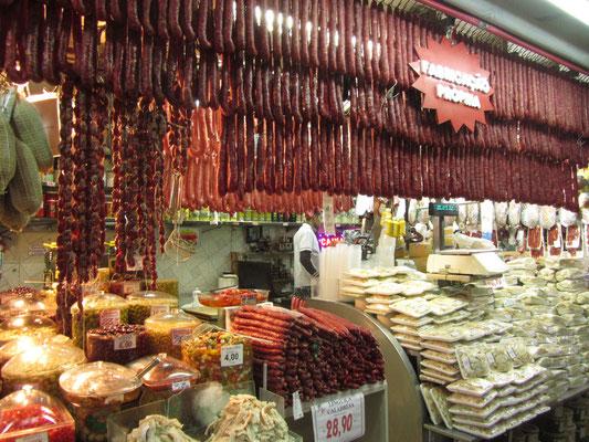 Würste. (Mercado Central)