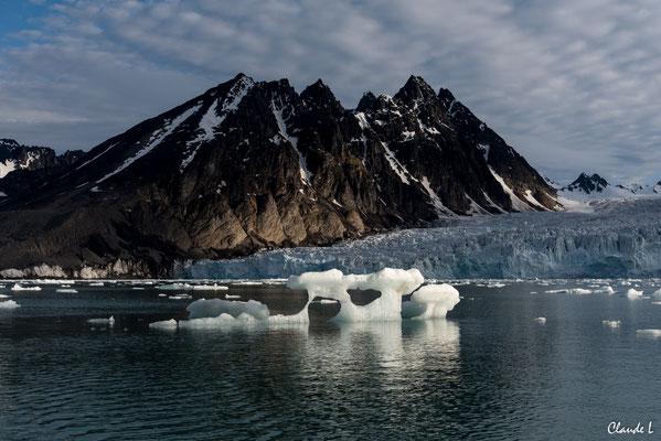 Liefdejjord, Paysage, Spitzberg, Svalbard