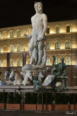 Florence,Fontaine de Neptune