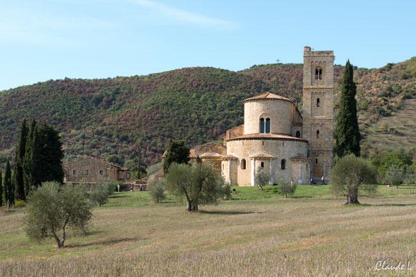 Monastère bénédictin, Montalcino