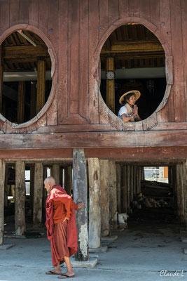 Monastère Shwe Yan Pyay