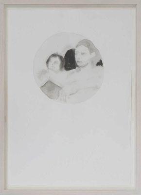 Senza titolo 1, 2012 - inchiostro di china su carta, 50x35 cm