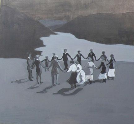 Nord, 2012 - acrilico su tela, 120x130 cm