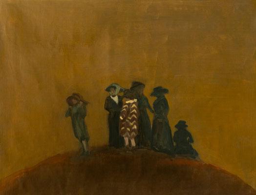 Away - 2014, 90x120 cm, oil on canvas