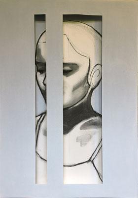 2016 - pastel on paper, 42 x 30 cm