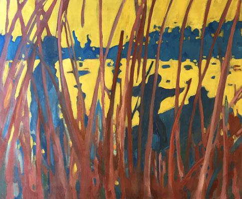 2018 - oil on canvas, 90 x 110 cm