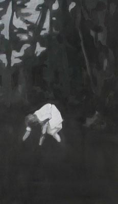 Senza titolo, 2012 - acrilico su tela, 70x40 cm
