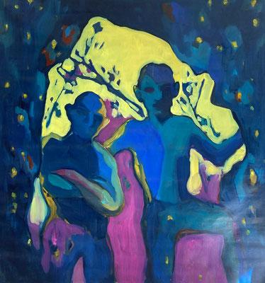 2019, oil on canvas, 90 x 80 cm