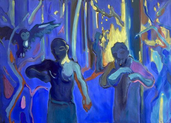 2019, oil on canvas, 90 x 120 cm
