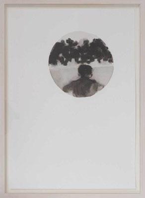 Senza titolo 5, 2012 - inchiostro di china su carta, 50x35 cm
