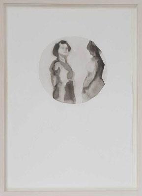 Senza titolo 3, 2012 - inchiostro di china su carta, 50x35 cm