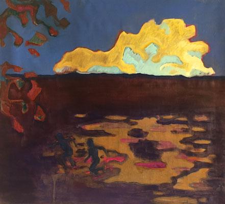 big cloud - 2018 – oil on canvas, 85 x 95 cm